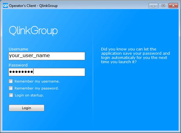 QlinkGroup .NET Desktop Client